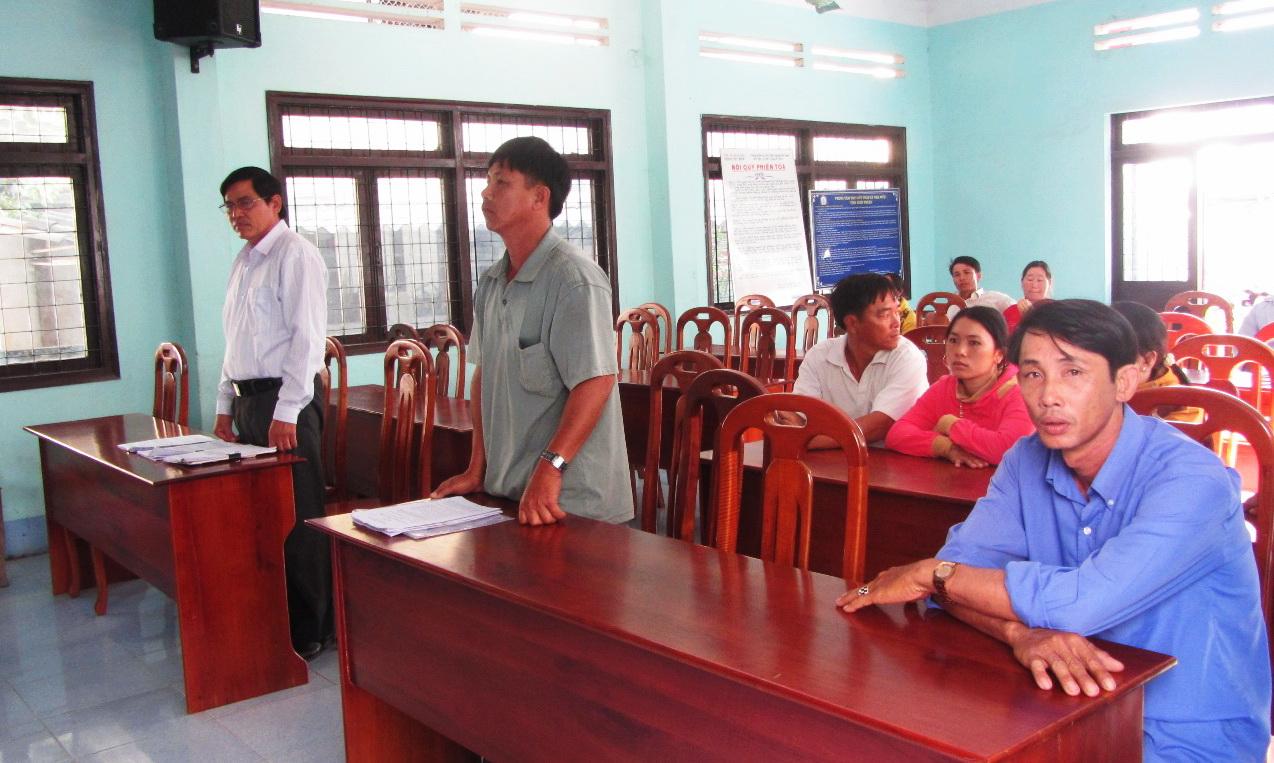Ông Lê Văn Long, Chủ tịch UBND huyện Bắc Bình thừa nhận ban hành văn bản sai