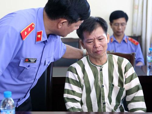 Ông Nguyễn Thanh Chấn tại trại giam Vĩnh Quang (tỉnh Vĩnh Phúc) trước khi được tạm trả tự do sau 10 năm ngồi tù thụ án chung thân về tội Giết người