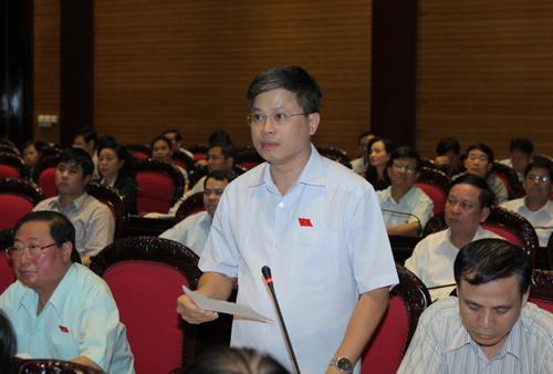Ông Nguyễn Sỹ Cương cho rằng Cục trưởng Cục Quản lý dược đã có phát ngôn xúc phạm đại biểu Quốc hội.