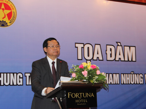 Tổng TTCP Huỳnh Phong Tranh cho rằng tham nhũng ở Việt Nam trong 3 năm qua (2012-2014) có tính chất ổn định