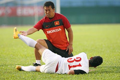 Chuyên gia Hiroo đã giúp cải thiện đáng kể tình trạng thể lực cầu thủ