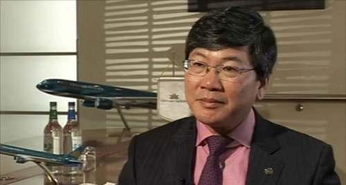 Tổng giám đốc Vietnam Airlines Phạm Ngọc Minh. Ảnh: Travelconsumerdaily