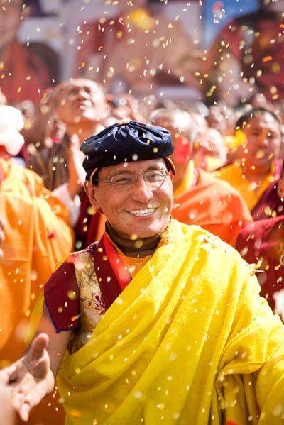 Đức Pháp Vương trong lần đến Việt Nam năm 2010