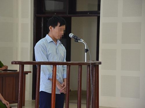 Bị cáo L. tại phiên tòa sơ thẩm của TAND TP Đà Nẵng