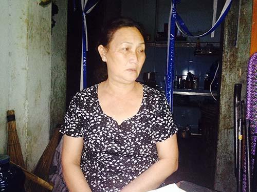 Bà Oanh kể lại sự việc mình bị oan