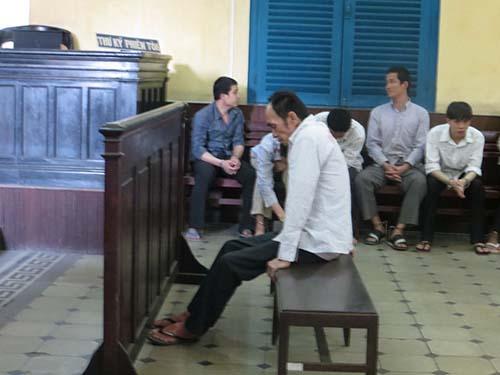 Bị cáo Bùi Ngọc Tiếng tại phiên tòa phúc thẩm