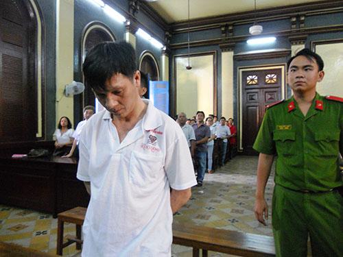 Bị cáo Lê Thanh Đức bị tuyên án tử hình