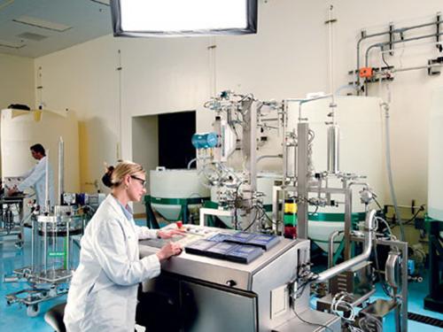 Một phòng thí nghiệm củaCông ty Bio-Rad ở MỹẢnh: Genengnews