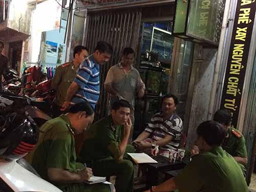 Tiệm cá cảnh Minh Khoa, nơi anh Phong bị  sát hại