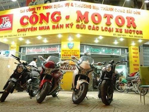 Cửa hàng của Công mô tô
