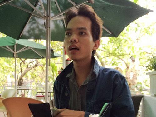 Đoàn Mạnh Quang giao dịch tại quán cà phê  trước khi bị bắtẢnh: Công Thanh
