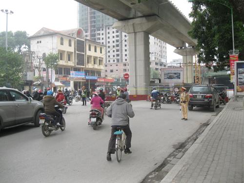 Hiện trường đã được phong toả để điều tra - Ảnh: Nguyễn Hưởng