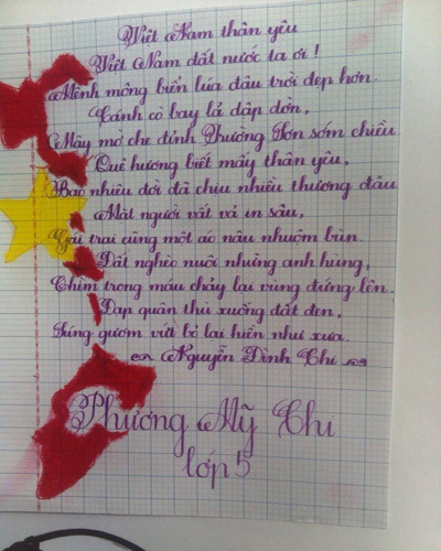 Bài viết của Phương Mỹ Chi được Quang Lê đưa lên mạng