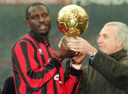Weah đoạt danh hiệu Cầu thủ xuất sắc thế giới năm 1995