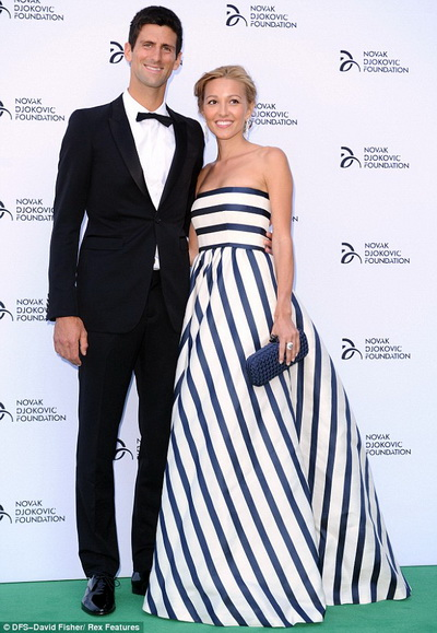 Jelena Ristic tham gia dự án xã hội thiện nguyện của Djokovic