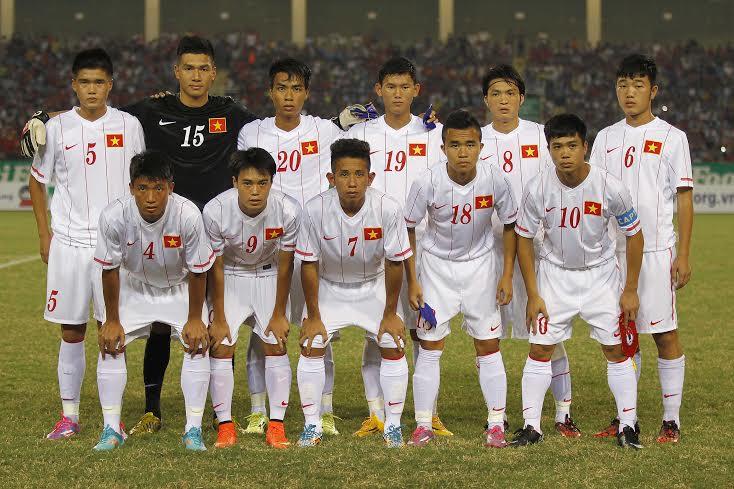 Đội hình ra ân của U19 Việt Nam