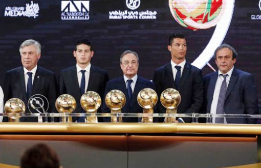 Real Madrid nhận 6 danh hiệu GSA năm 2014
