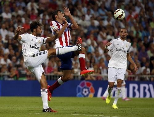 Trận derby thành Madrid không nóng như mong đợi dù có rất nhiều pha bóng quyết liệt