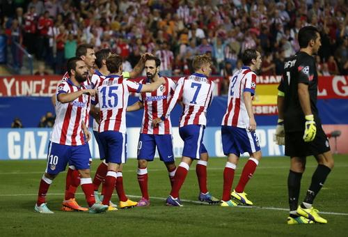 Nỗi buồn Buffon, niềm vui Atletico Madrid