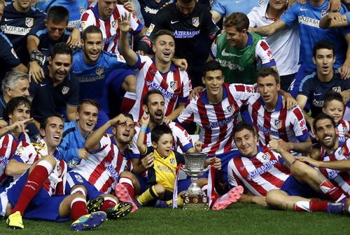 Niềm vui không gì sánh bằng của Atletico Madrid