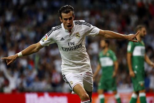 Gareth Bale có bàn thắng từ đường chuyền của James Rodriguez