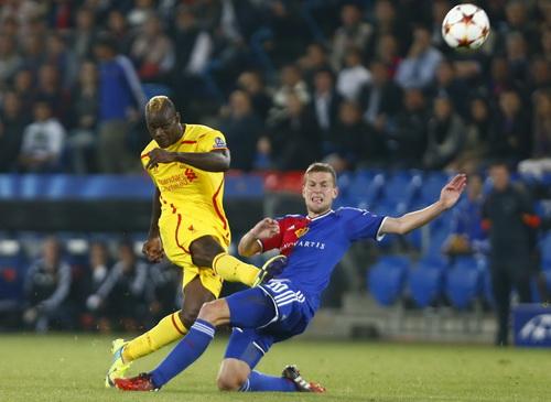 Mario Balotelli chưa đáp ứng được nhiệm vụ ghi bàn kể từ khi gia nhập Liverpool