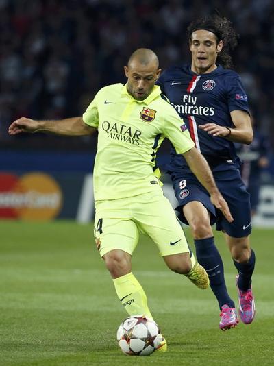 Barcelona có trận đấu khó khăn tại Paris