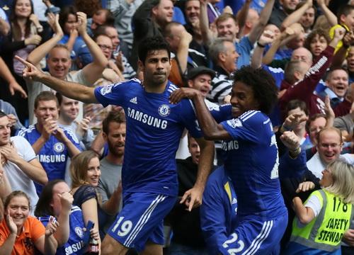 Diego Costa tiếp tục nổ súng cho Chelsea