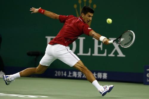 Phong độ cực tốt giúp Djokovic vượt mọi trở ngại ở cụm giải châu Á