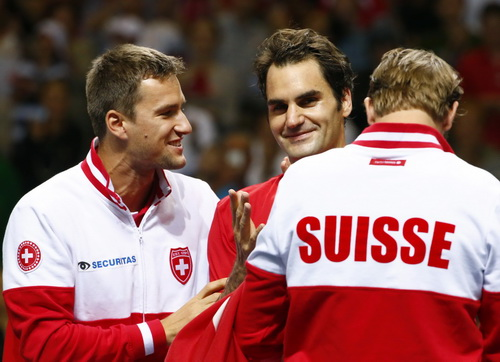 Sau nhiều năm chinh chiến vì bản thân, Federer đã nghĩ đến quyền lợi của quần vợt quốc gia