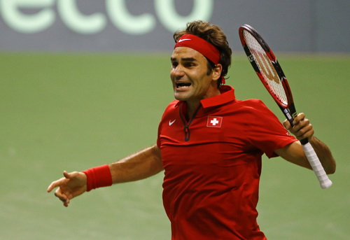 Niềm vui chiến thắng của Federer