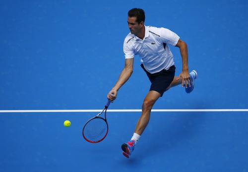 Garcia Lopez kjhông chống đỡ nổi sức mạnh tấn công của Djokovic