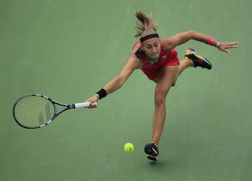Aleksandra Krunic tạo bất ngờ với việc đánh bại Petra Kvitova