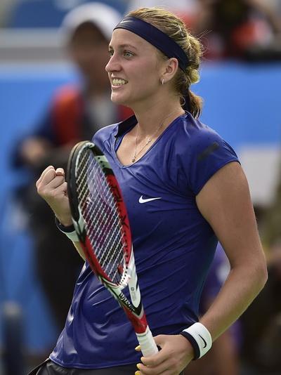 Petra Kvitova tự tin vào chiến thắng sau cùng ở WTA Vũ Hán