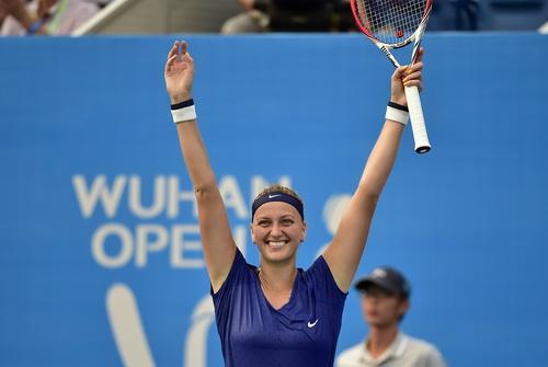 Phần thắng sau cùng nghiêng về cho Petra Kvitova