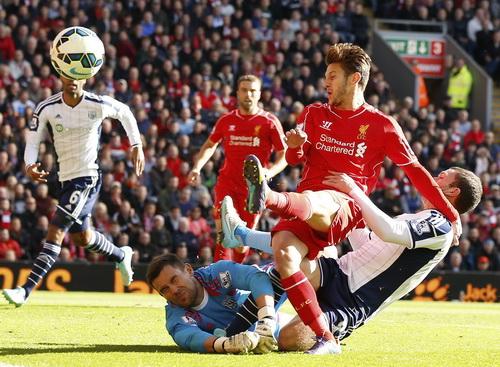 Adam Lallana ghi bàn đầu tiên trong màu áo Liverpool