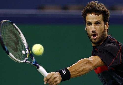 Feliciano Lopez đã thi đấu rất hay trước đồng hương nổi tiếng Rafael Nadal