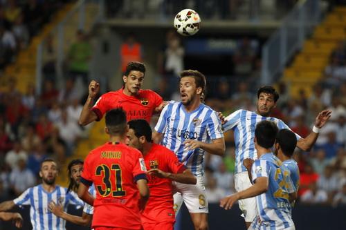 Trận đấu trên sân Rosaleda quyết liệt, chi thiếu bàn thắng