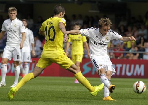 Luka Modric ghi bàn mở tỉ số