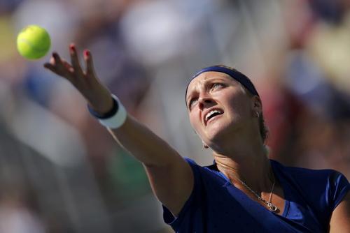 Petra Kvitova vào bán kết giải đấu ở Vũ Hán