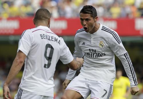 Ronaldo nối dài mạch ghi bàn đáng sợ ở La Liga