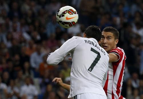 Ronaldo đánh đầu mở tỉ số phút thứ 2