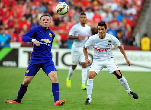 Mạch ghi bàn của Rooney dừng lại ở trận thứ ba trên đất Mỹ