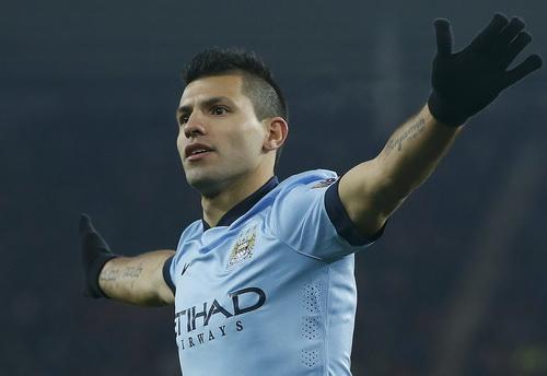 Aguero giúp Man City duy trì khả năng bảo vệ ngôi vô địch