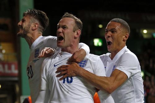 Niềm vui của Rooney và tuyển Anh