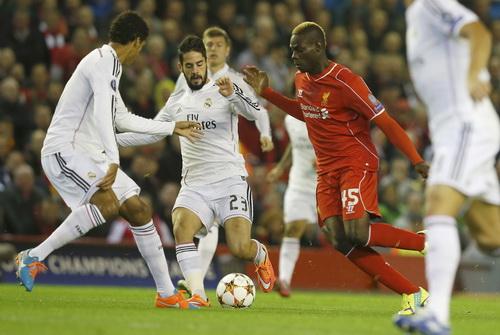 Balotelli đang là nỗi thất vọng lớn nhất của Liverpool
