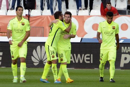 Barcelona có chiến thắng, trở lại tốp dẫn đầu