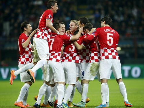 Niềm vui Croatia sau pha lập công của Ivan Perisic