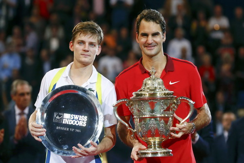 Federer có danh hiệu thứ 6 ở Basel Indoors