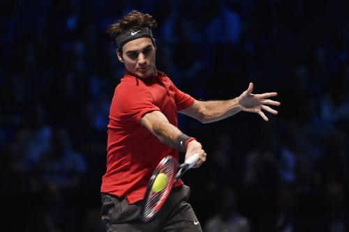 Chiến binh Federer có chiến thắng ngoạn mục trước đối thủ trong Top 6